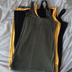 lot of 3 maxi dresses